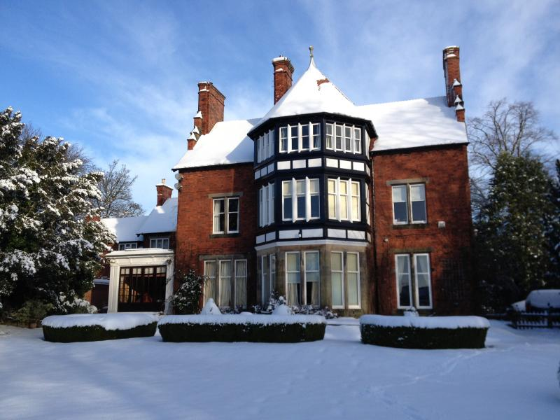 The flat is the second floor of the owners' arts and crafts Victorian house, with separate entr