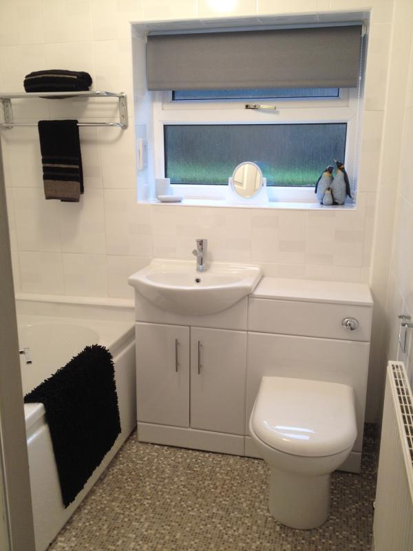 New Fitted ground floor bathroom