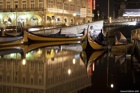 Aveiro's city.Province capital-channels