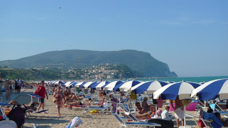 Playa y Monte Conero