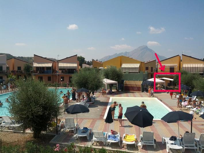 Casa vacanza villaggio 101 pini Campofelice di Roccella/Cefalù, holiday rental in Campofelice di Roccella