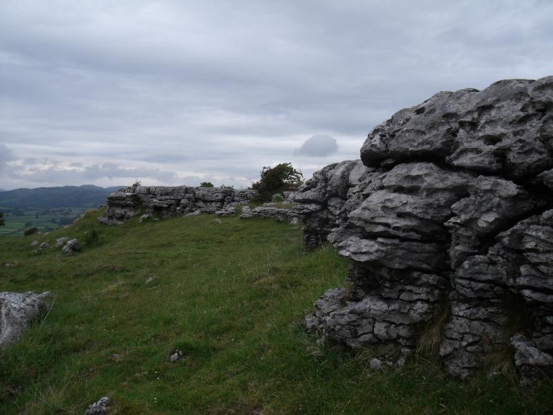 Formaciones de piedra caliza antigua, Hampsfell