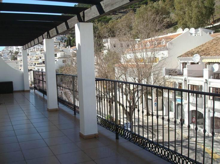 North facing terrace.