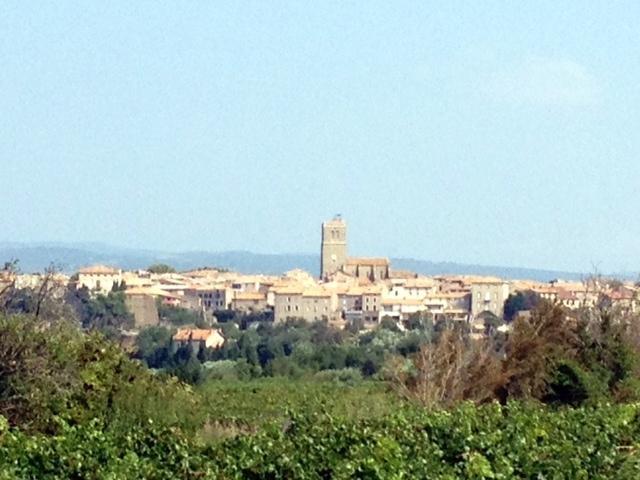 Azille, petit village  Minervois