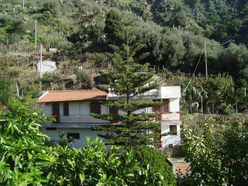 Casa singola, immersa nel verde, holiday rental in Messina