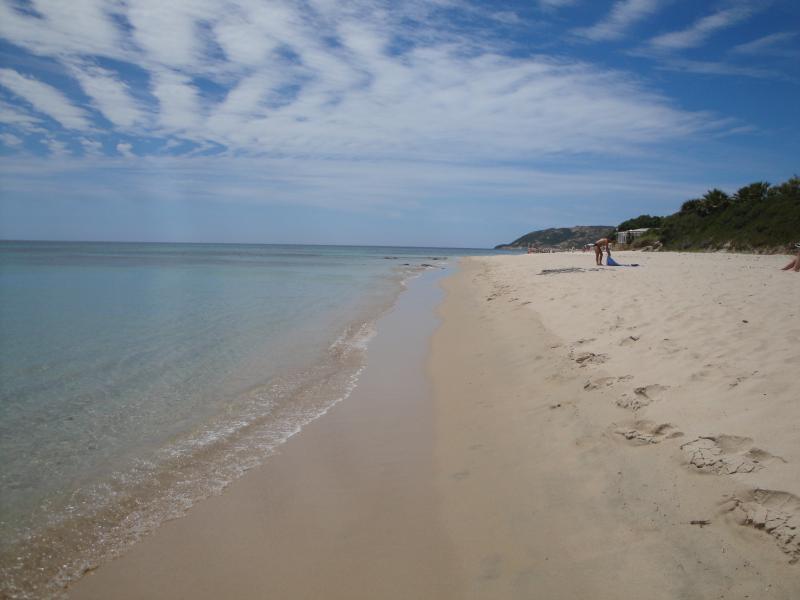 Stella Marina's beach