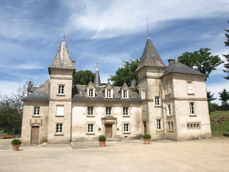 The chateau on the Ile de Vassiviere is one of many local attractions