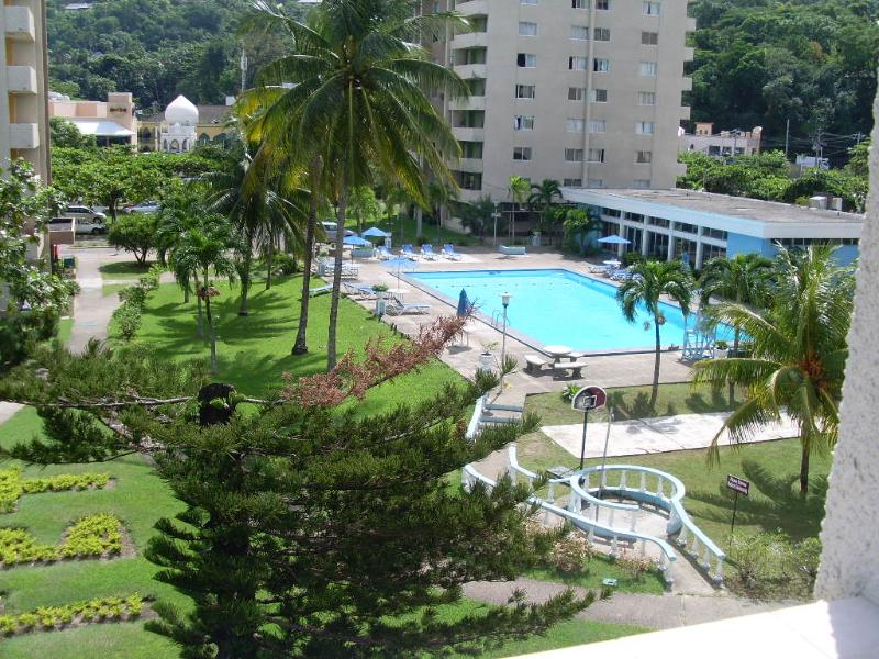 Swimming Pool, View from Balcony