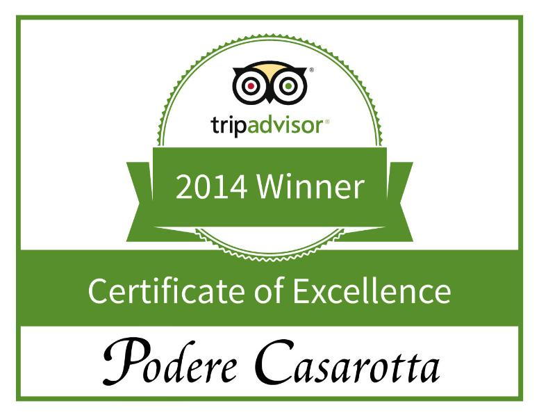Search for 'Podere Casarotta' on TripAdvisor!
