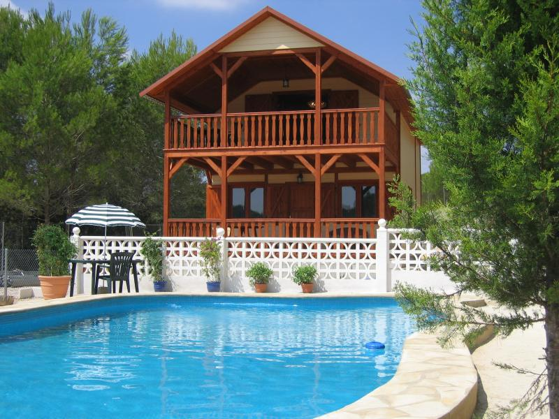 Summer, hot days around the pool