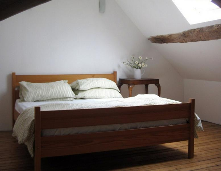 Beautiful attic bedroom