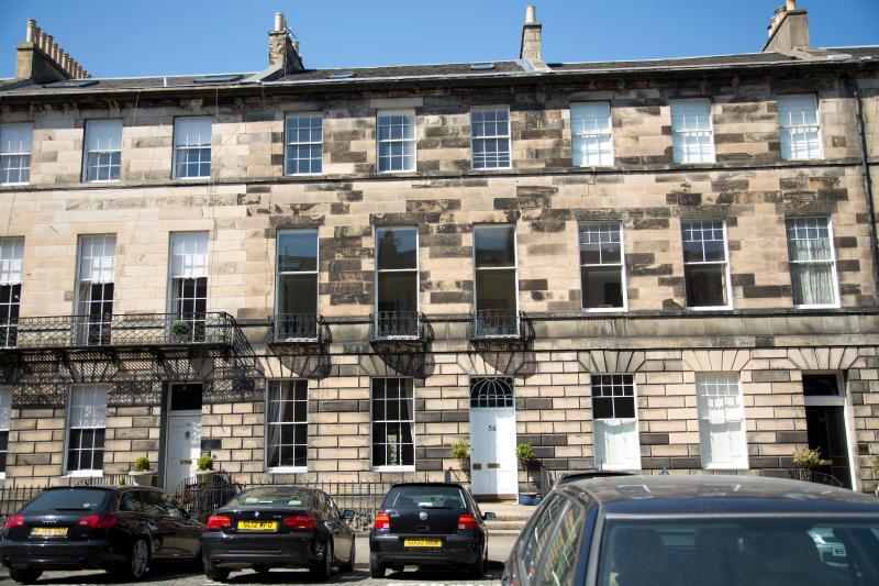 External View of 56 Great King Street