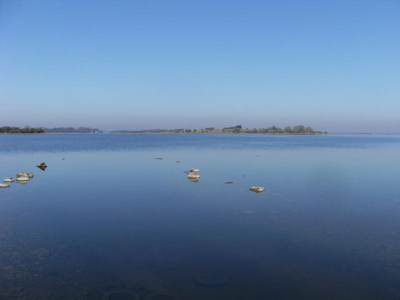 Lake like glass today