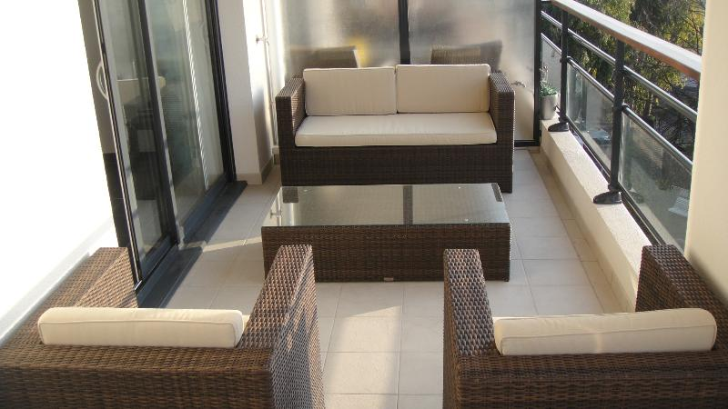 Luxury Central Cannes apartment with 2 bedrooms, balcony and pool access, holiday rental in Cannes