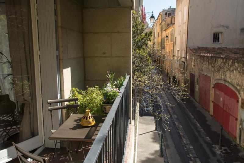 Vue du balcon - Pas de vis à vis