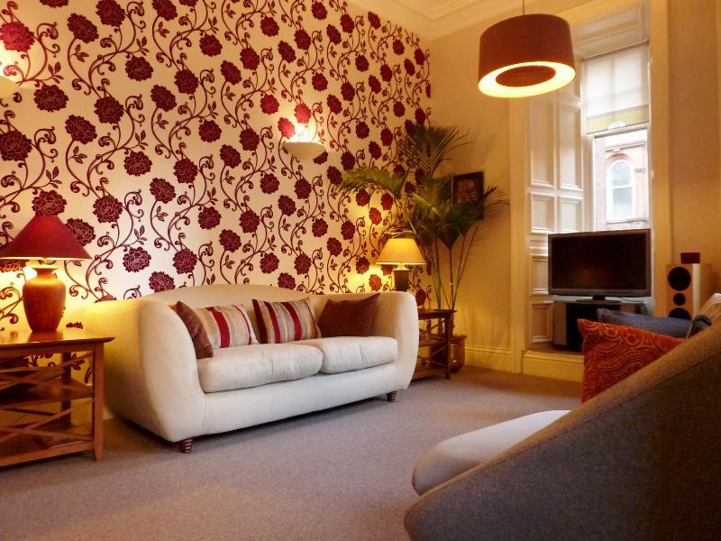 Lounge: veel ruimte om te ontspannen na een dag sightseeing in de stad