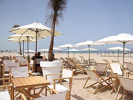 Chiringuito en la Playa de Gandia