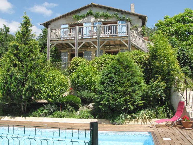 La Grange with heated private pool