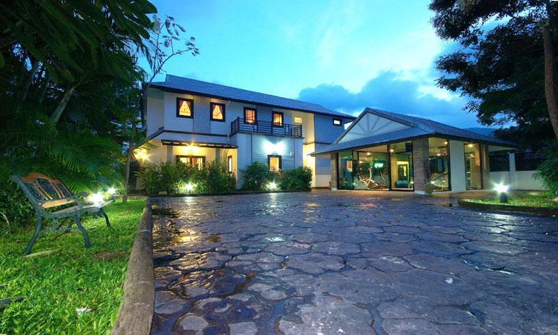 Villa ingang