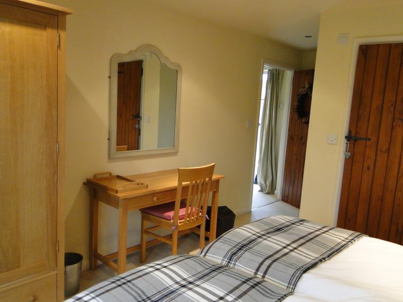 Dairy House downstairs bedroom with ensuite shower room