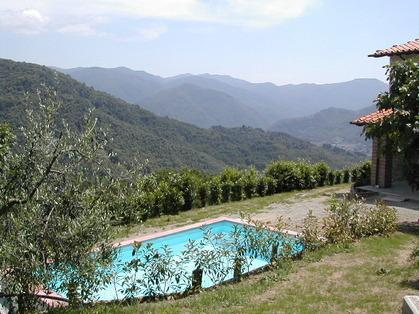 Pool and stunning mountain views