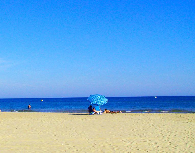 Nearest Beach at Marseillan Plage