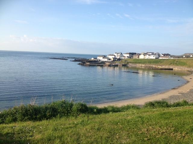 Portballintrae Bay and Harbour, located 0.6 km from the cottage.