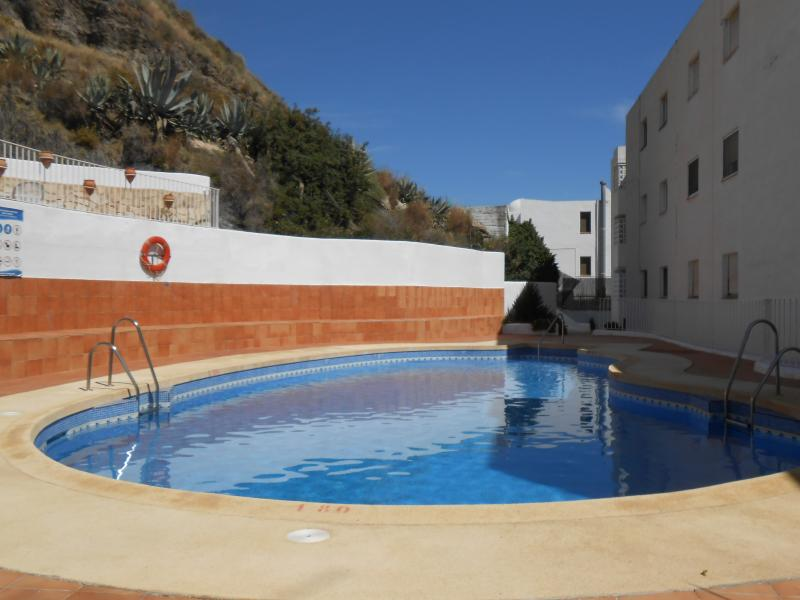 Beachfront 2 bedroom A/C Apartment Delfin, Mojacar, Spain: sea, nature, relax, holiday rental in Playa Macenas