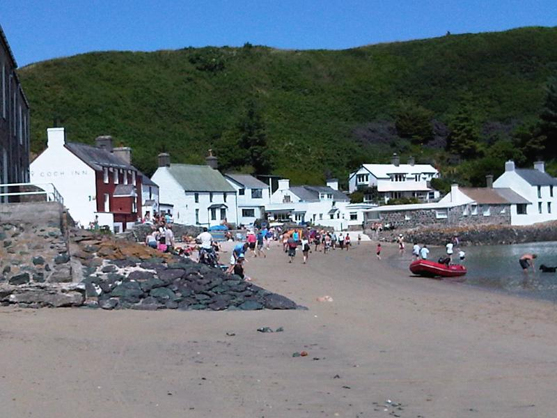 The local beach. Enjoy a drink on the sand at Ty Coch.