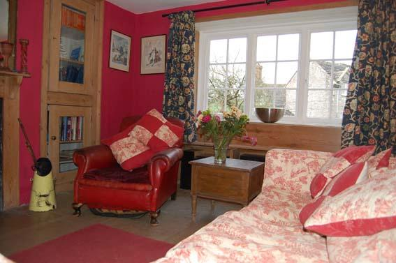Sitting room in the main house