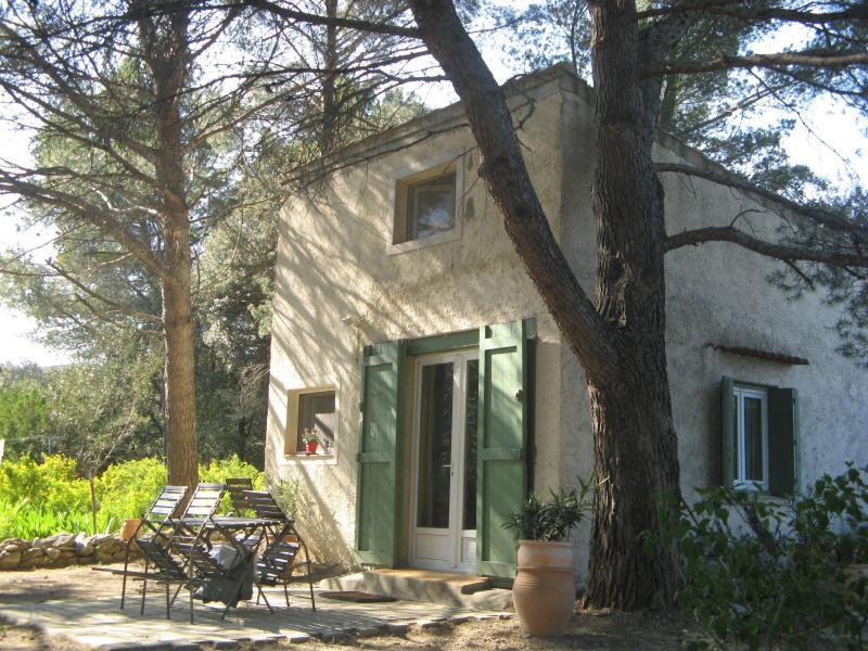 Maisonnette a l'ombrage des pins