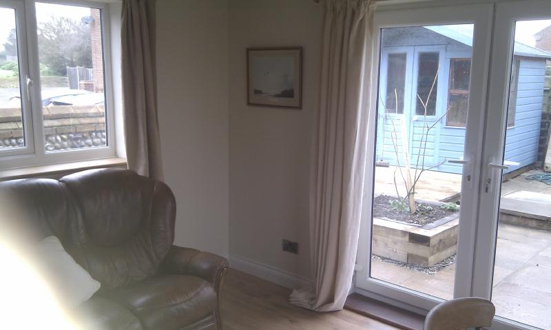 Another angle showing patio doors
