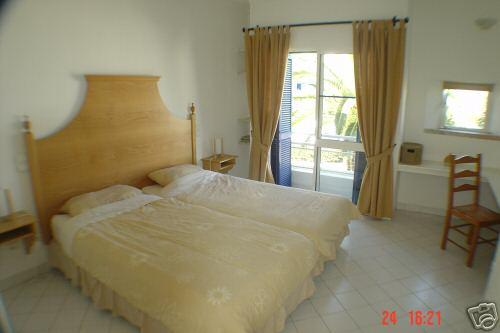 Spacious tastefully furnished master bedroom