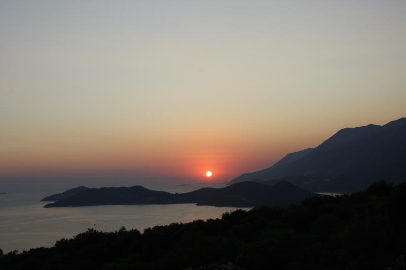 Sundown from Villa Kekova