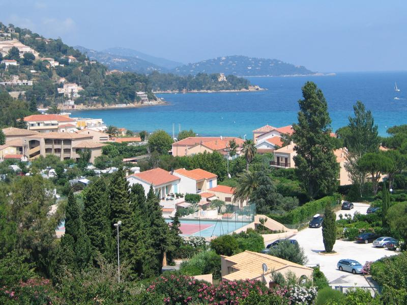 The view from the garden is almost 180 degrees of the Med. - looking South East