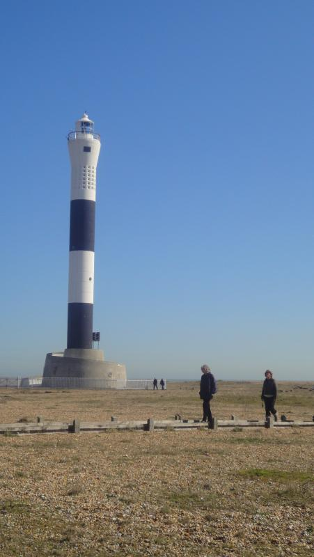 Dungeness lighthouse.