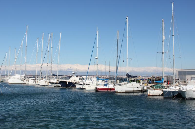 Yachts marina in Preko, 15 minutes walk from the apartment