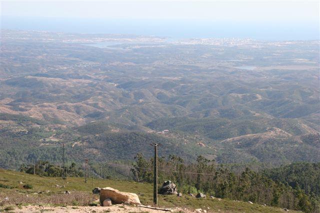 Vues de la montagne à Monchique