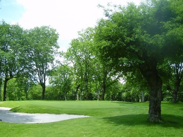 Campo de golf a 500 m.