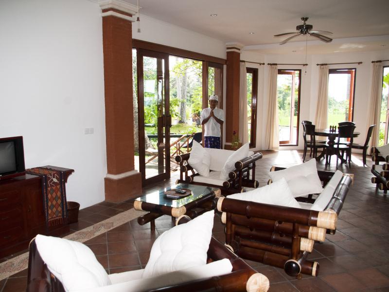 Living room formal dining area