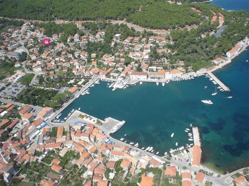 Apartment for 4 persons in Jelsa-island Hvar, holiday rental in Jelsa
