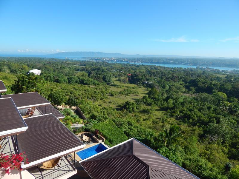 Bohol Vantage Resort Blick Richtung Tagbilaran