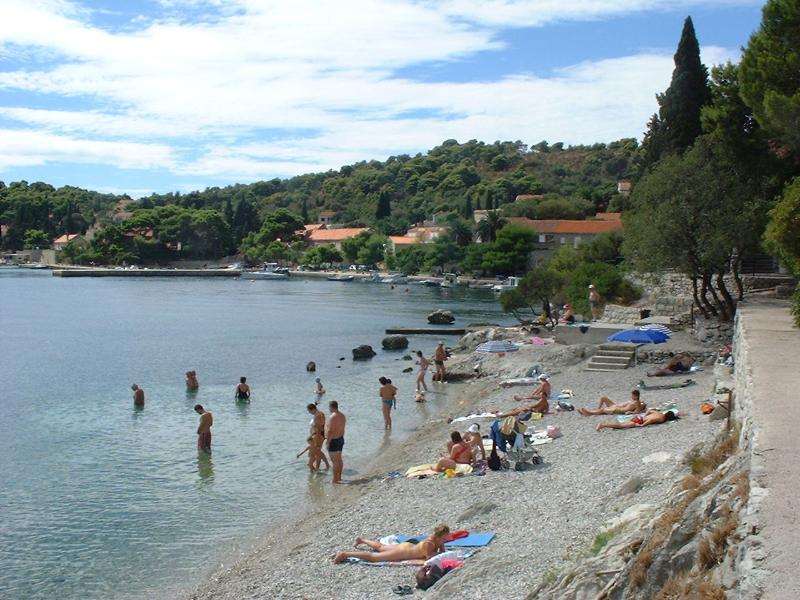 One of the beaches nearby