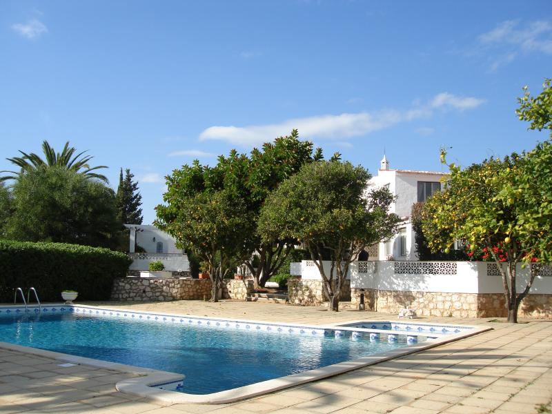 Beachcomber pool and garden.