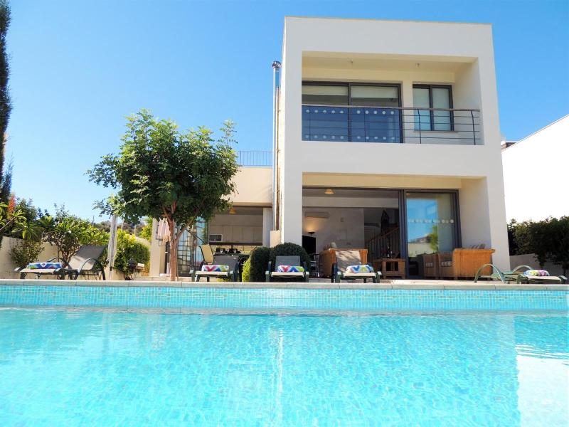 Great view of Villa 10 from your private pool. Chill out here in total luxury.