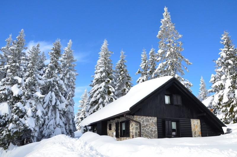 Chalet Klara in winter time