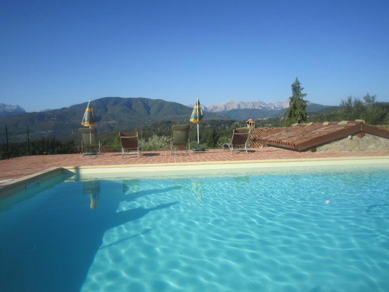 Zwembad en uitzicht