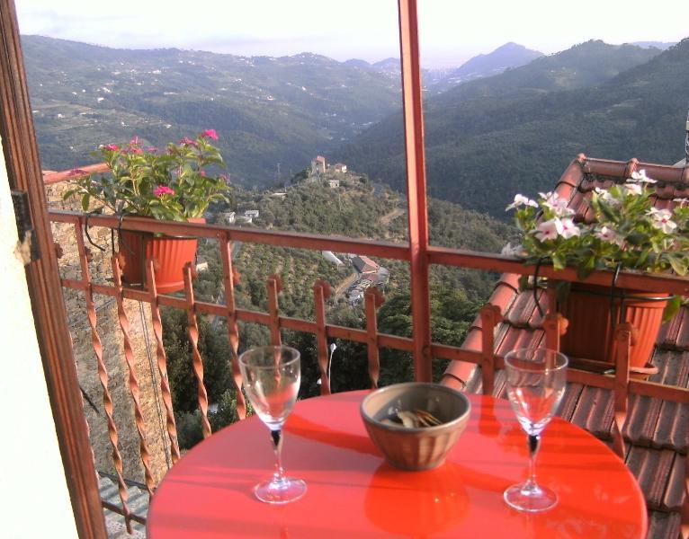 Perinaldo Stunning sea view, plenty of charm, holiday rental in Castel Vittorio