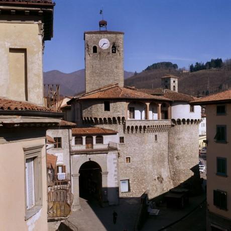 Markt Stadt von Castelnuovo di Garfagnana