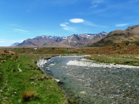 Von River has been featured in scenes in Lord of The Rings- a  perfect scene to fish, walk or cycle